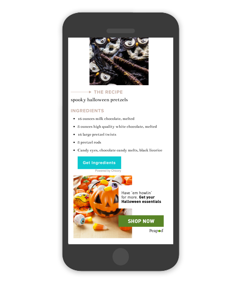 Halloween Pairings Recipe Mobile