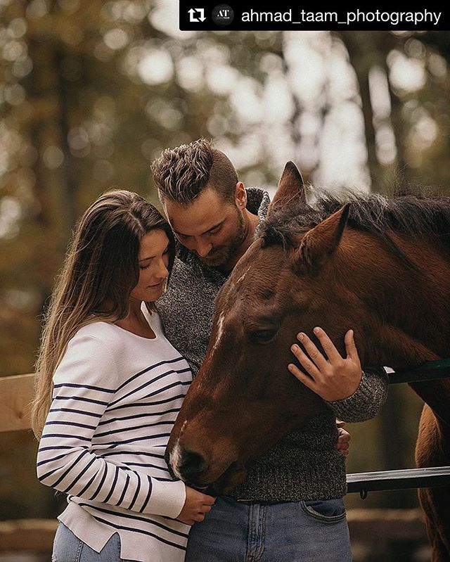 #Repost @ahmad_taam_photography ・・・ #photooftheday #capturedmoments #love #engagement #animallovers #engaged #proposal #countyliving #horse