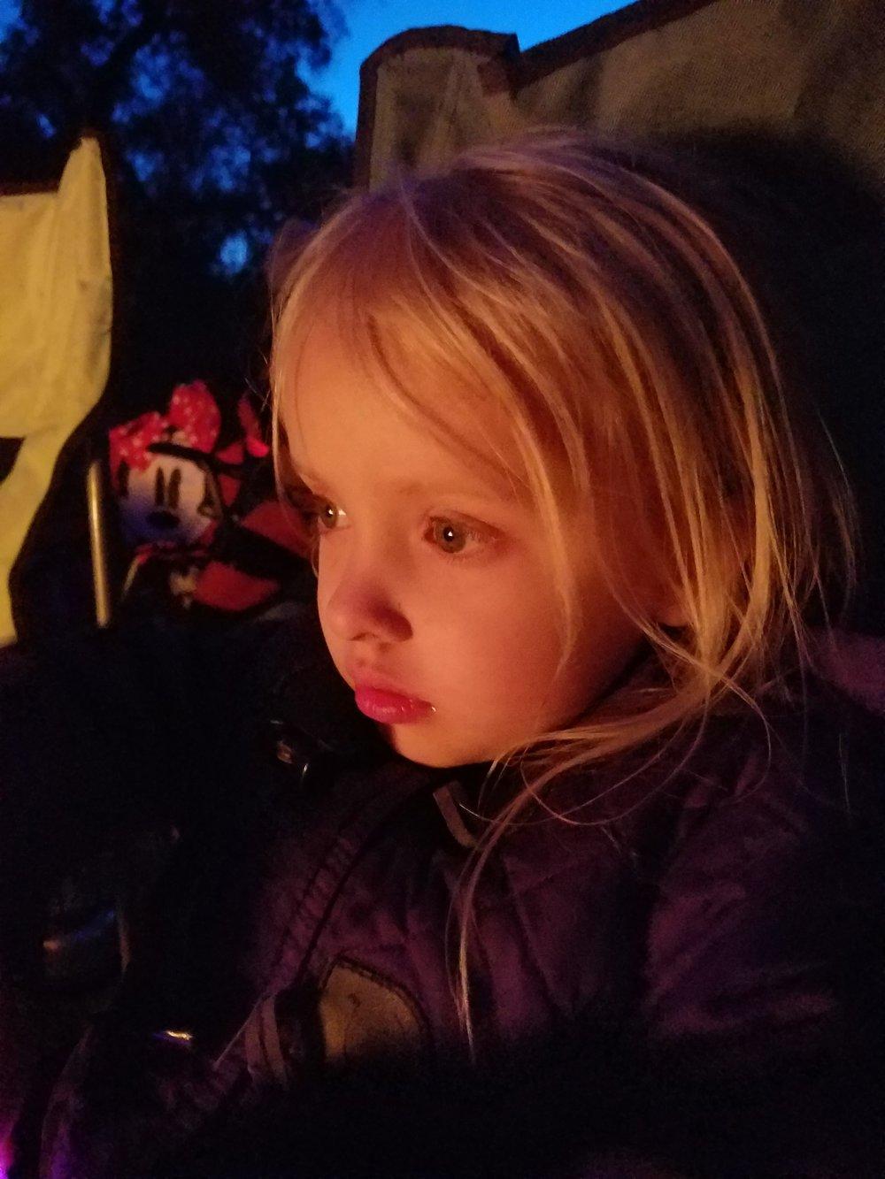 Campfire glow!