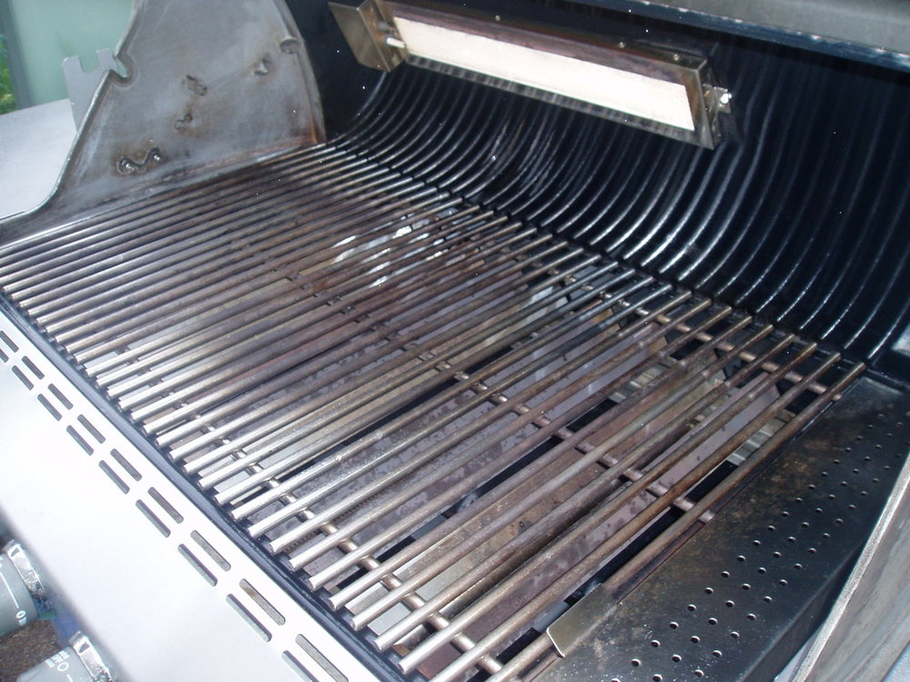 WEBER GRILL AFTER CLEANING