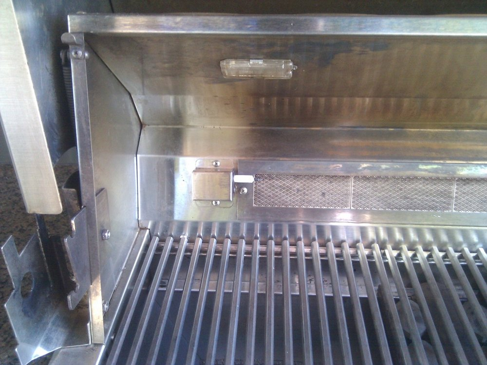 WOLF BBQ GRILLS AFTER CLEANING