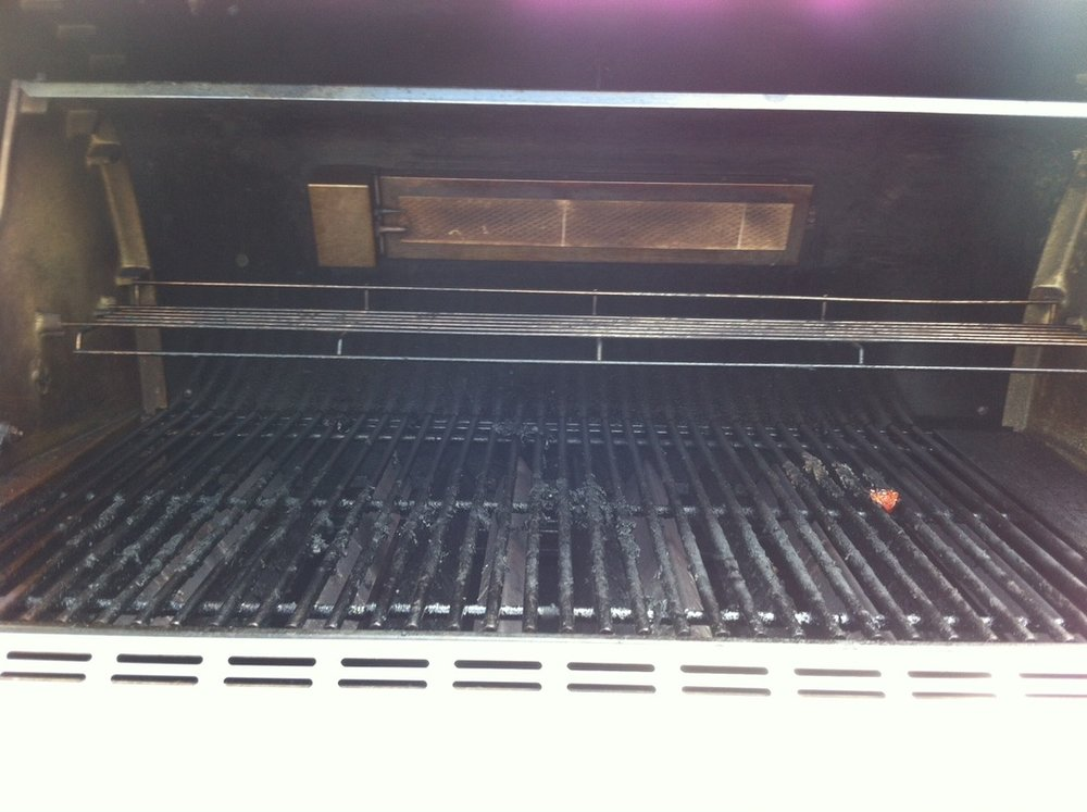 FIREMAGIC BBQ BEFORE CLEANING
