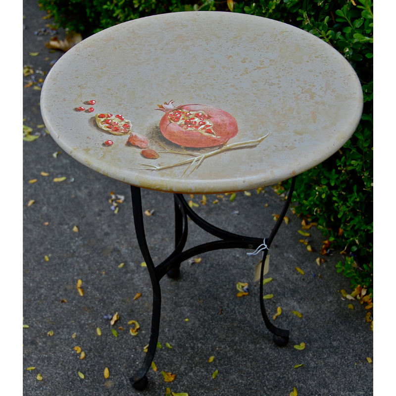 Pomegranate Table - One-of-a-kind $980