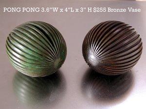 Pong Pong Broze Vase $255