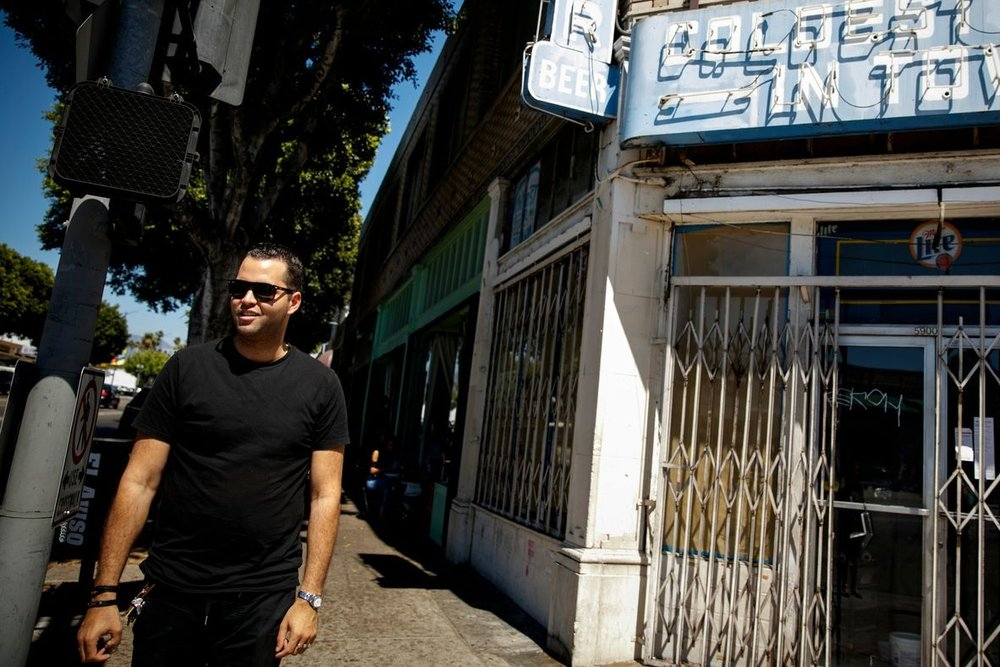 4 4 restaurants and 32 miles with L.A. restaurateur Jeremy Fall - fAt all of 26 years old, Jeremy Fall is trying to take over the hospitality industry in Los Angeles. The owner of Nighthawk Breakfast Bar, a breakfast-only restaurant and bar in Venice, has spent the last six months rolling out four new projects, including a burger joint, a liquor store with a hidden deli in the back, and two iterations of Nighthawk. He has also opened two successful Hollywood nightclub pop-ups, Genesis and Golden Box. In his downtime, he's done stints as a clothing designer and an editor of a digital magazine.Read the Story