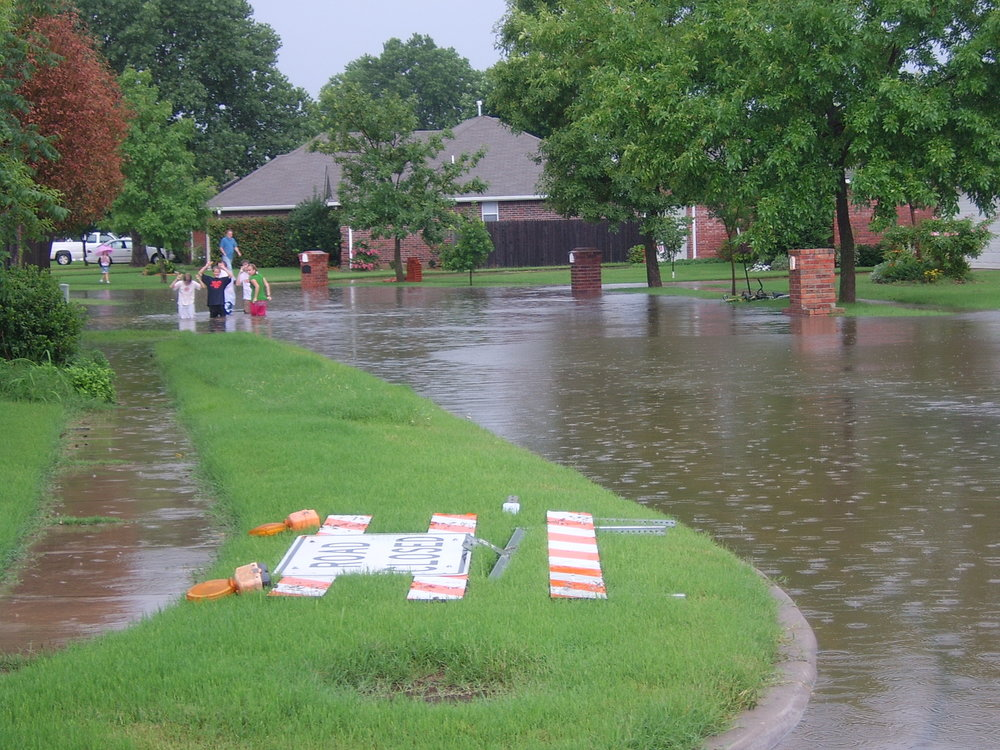 Flooding: Street Flooding at Midway Drive, 2011