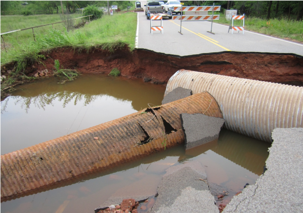 Etowah Road - Culvert and Road Washout, 2015