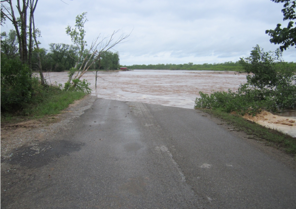 Rock Creek Road - Canadian River Changed Course, 2015
