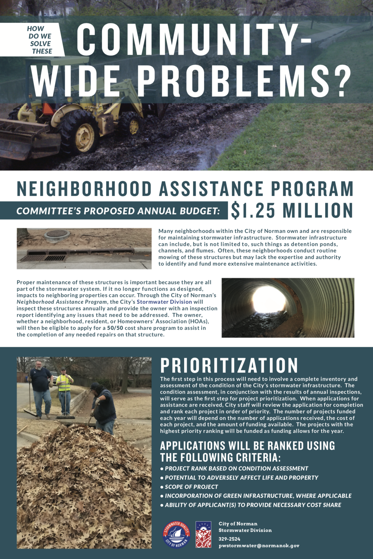 Community-Wide Problems? - Neighborhood Assistance Program