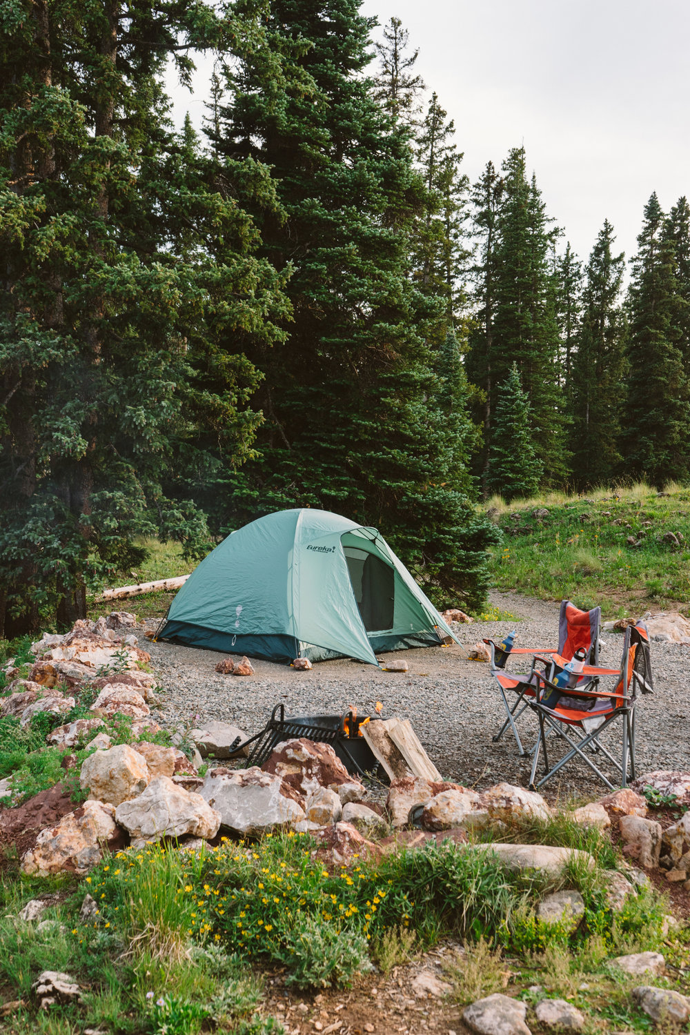 Camping in the San Juan Mountains by Jessie May