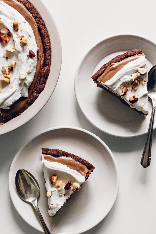 Chocolate Peppermint Pie by Jessie May