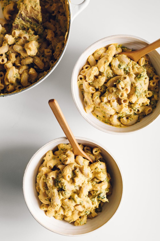 (Vegan) Macaroni & Cheese by Jessie May