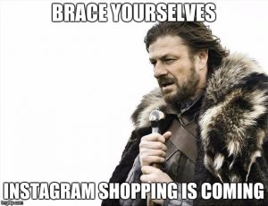 Instagram Shopping Announcement
