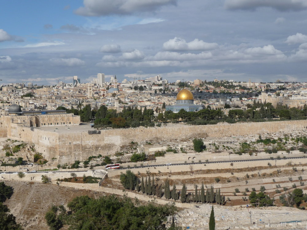 Temple mount looking west form the Mt of Olives.JPG