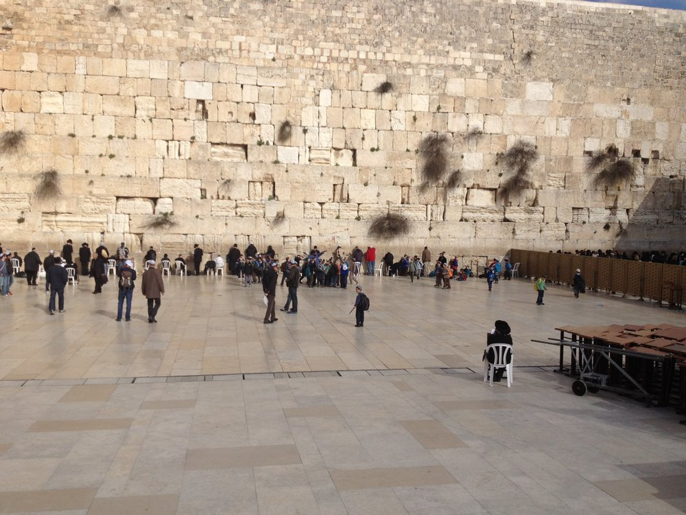 Bill Ryan at the Western Wall.JPG