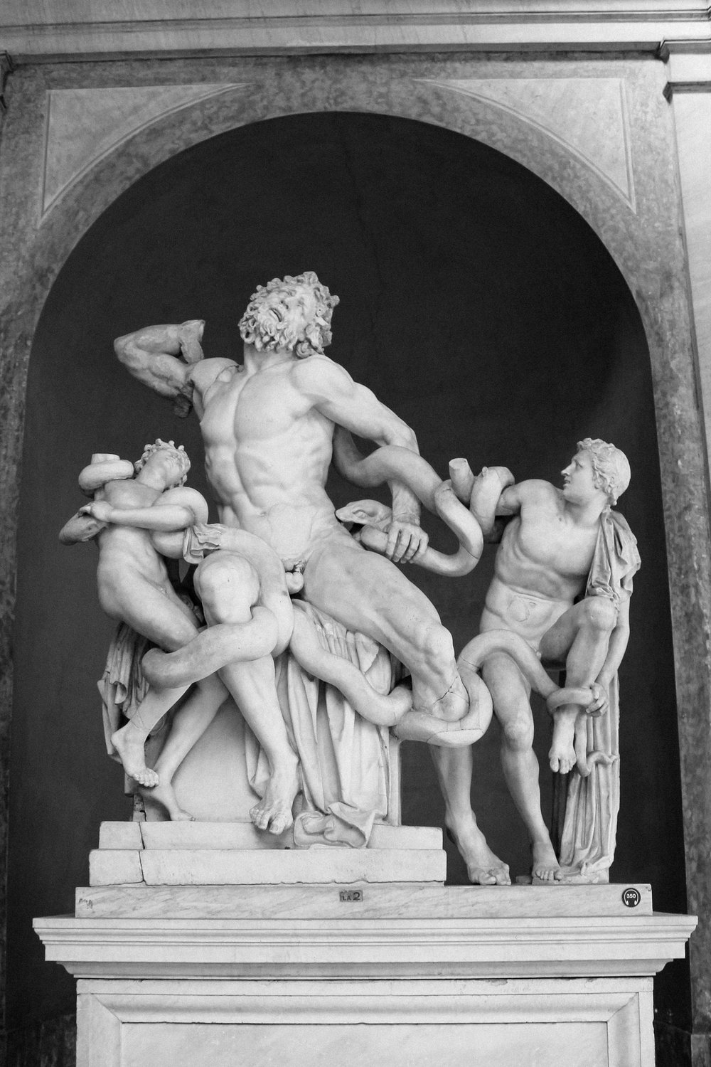 Laocoön and His Sons at the Vatican Museum
