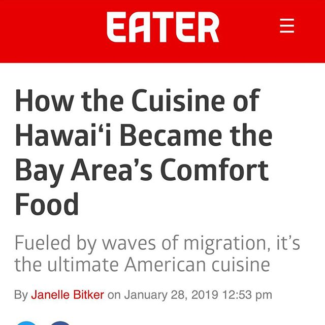 So honored to be a part of this article by @jlbitker! Mahalo for including us amongst all of these amazing restaurants! Big mahalo to everyone who has supported along the way! See you all very soon! 😎🤙🏽