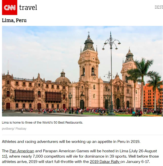 CNN Travel's 19 places to visit in 2019 - CNN Travel