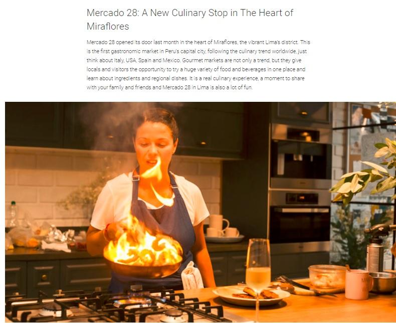 Mercado 28: A New Culinary Stop in The Heart of Miraflores - Taste of Perú