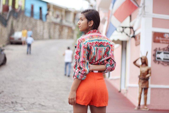vintage clothes paloma de la cruz fashion blogger