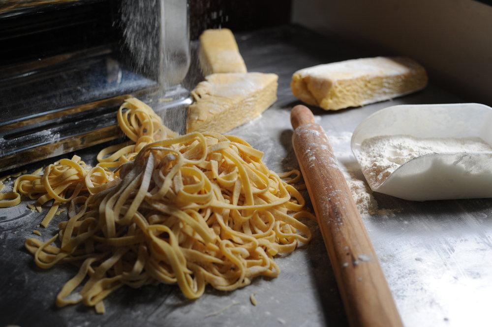 Handmade Pasta Tagliatelle Centro Denman