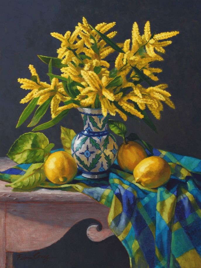 Wattle and Lemons