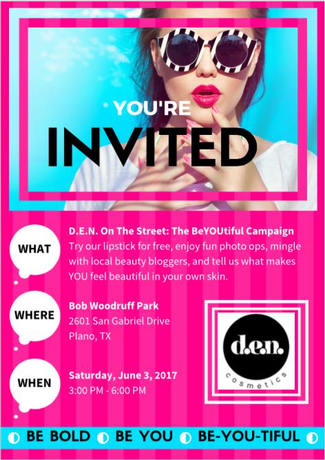 Event flyer, June 2017