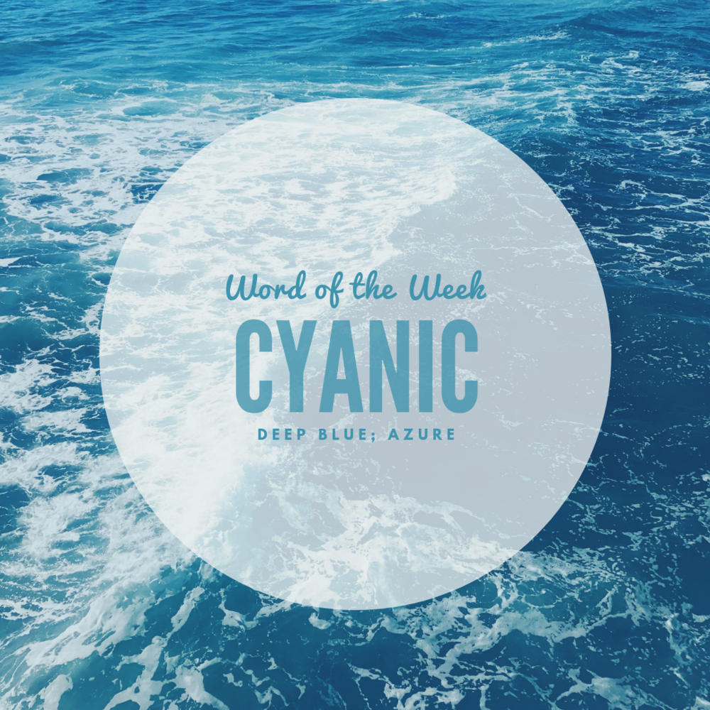""" Word of the Week"" post for 9/26/18"