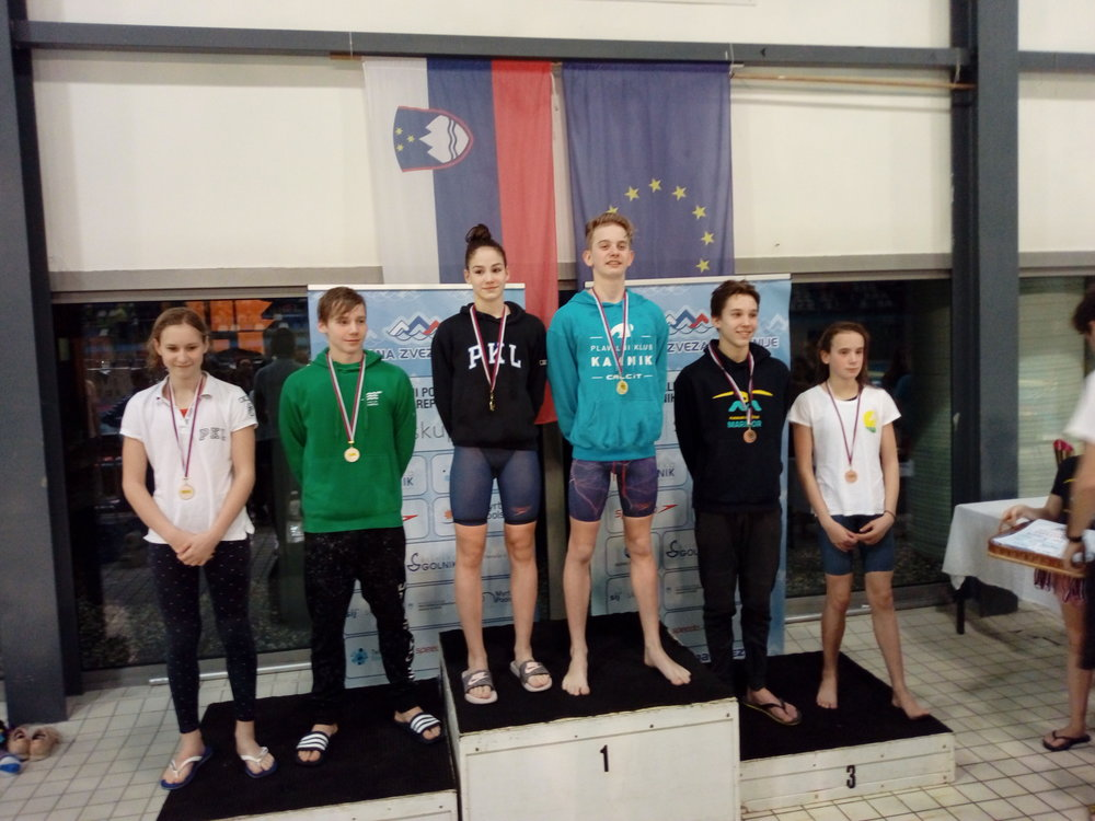 Naš Plivač Kosec Tian je osvojio 3 mesto u Disciplini 50 Delfin, sa rezultatom : 29.01 , Čestitamo na Uspehu, kao i svim Ostalim Plivačima na uloženom Radu i Trudu !