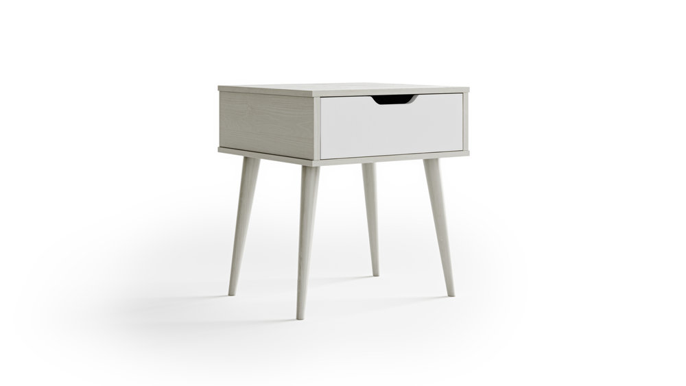 Furniture Model, Comfortable Elegance Style Nightstand