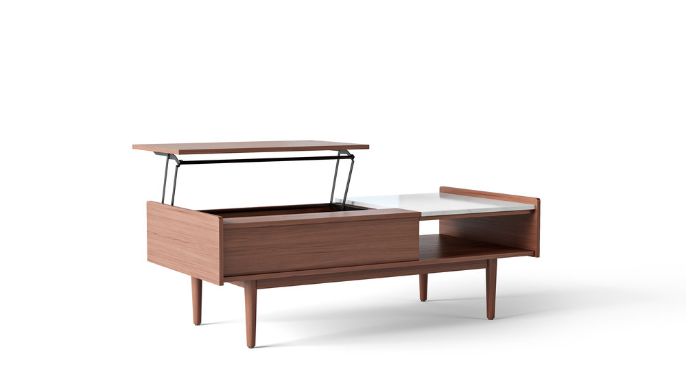 Furniture Model, Mid-Century Style Coffee Table