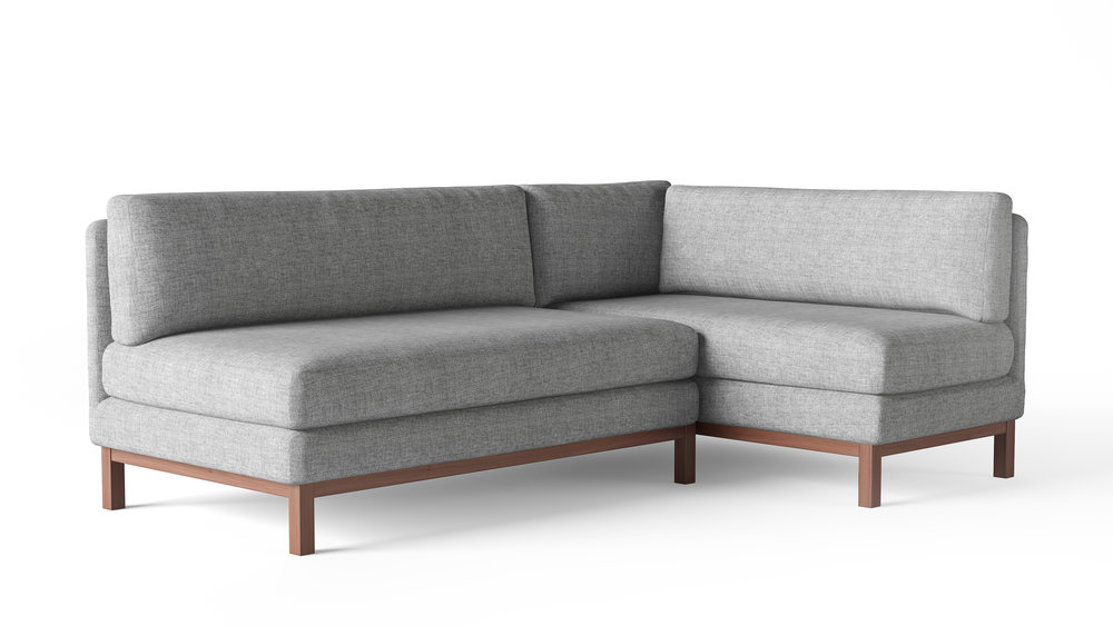 Furniture Model, Mid-Century Style Sectional