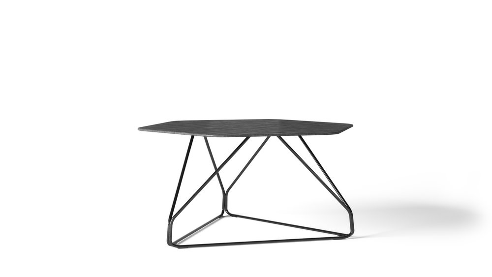 Furniture Model, Lounge Style Dining Table