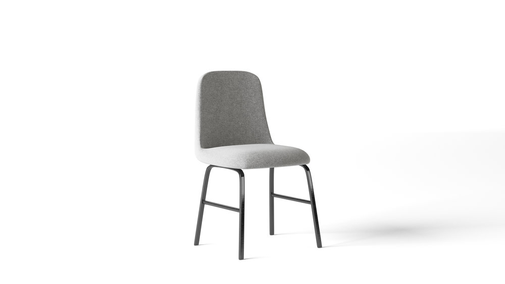 Furniture Model, Lounge Style Dining Chair