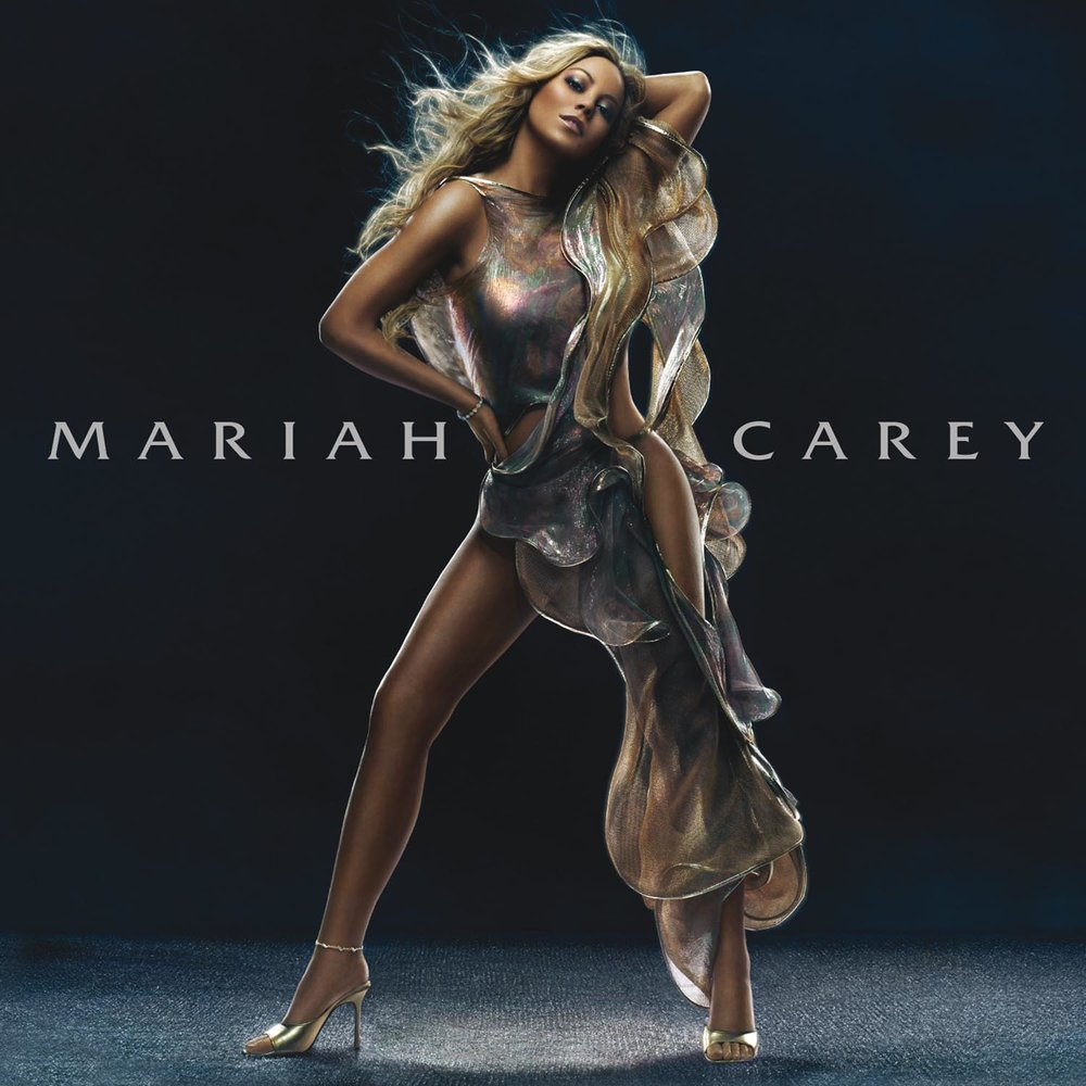 I sang with the band as they were recording it - - Mariah Carey