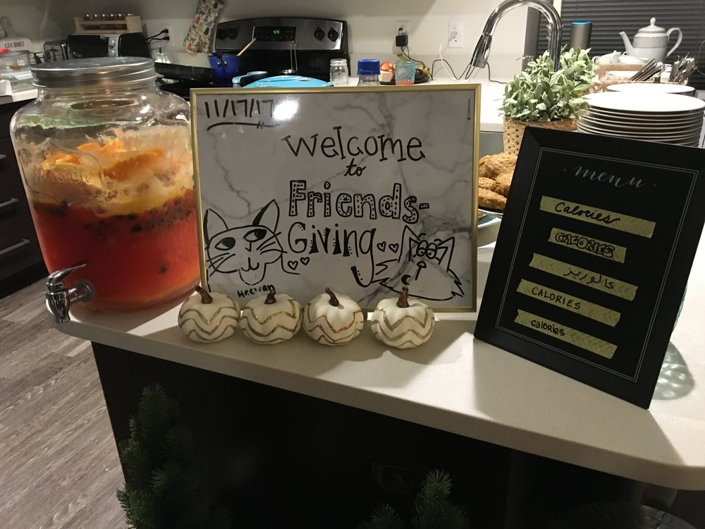 I also reuse decorations like chalkboards that can be redecorated for different events. Can you tell these are from different parties?