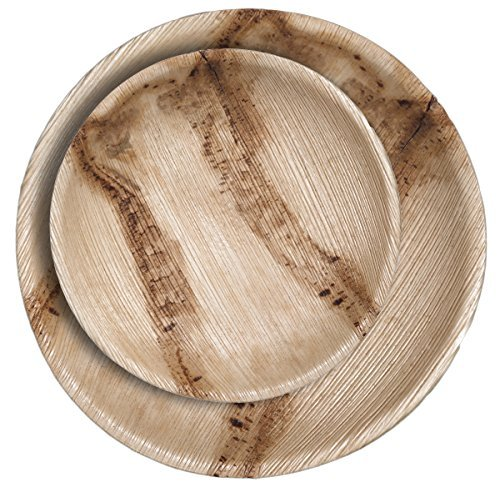 A friend recently used  these  awesome compostable palm leaf plates. These are a great option to keep as a backup if you run out of reusable plates.