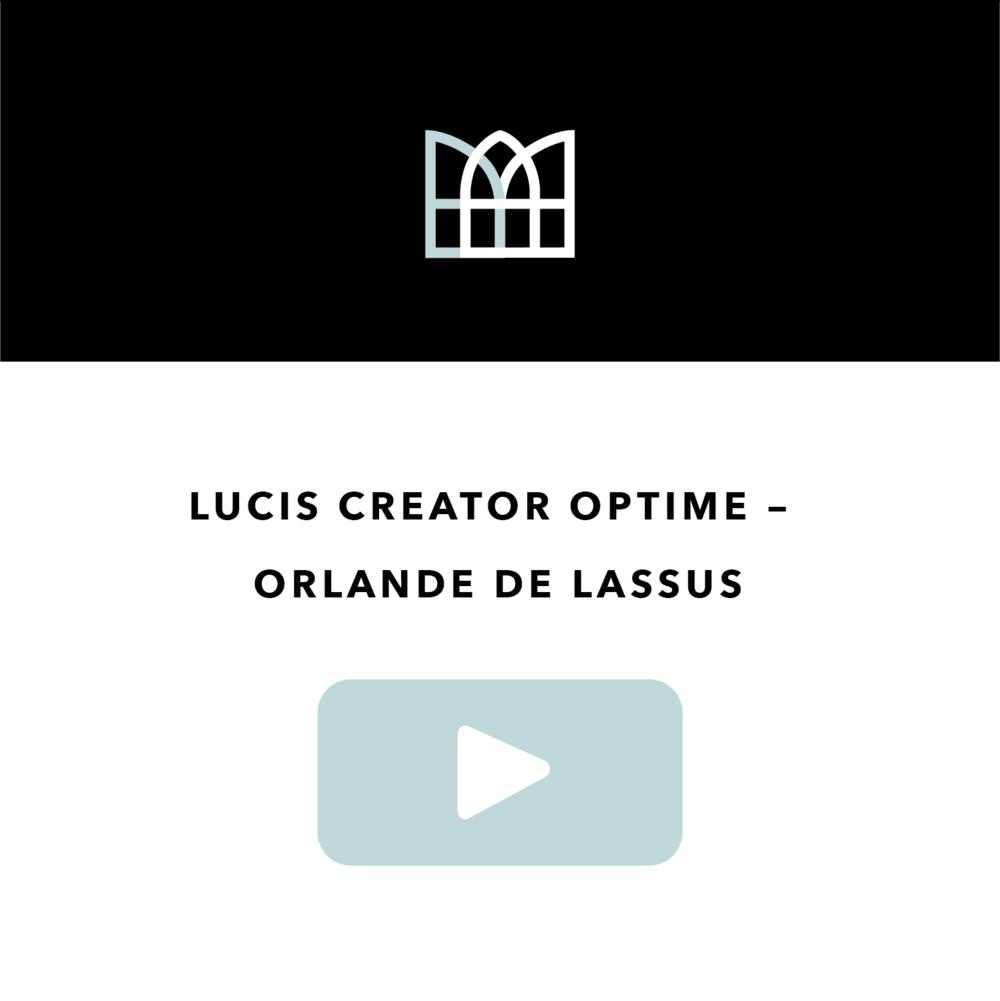 Lucis creator optime - Orlande de Lassus