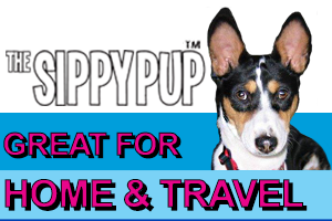 The Sippy Pup - Great for home and travel