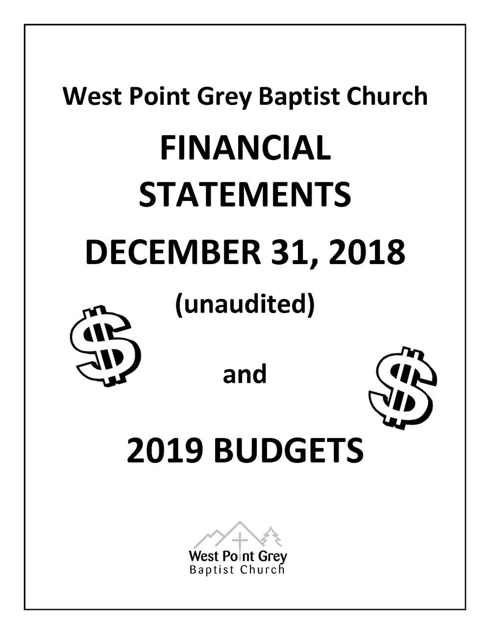 West Point Grey Baptist Church Financial Statements cover_2018.png
