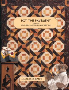 This book features three of Lyn's Original quilt patterns. the book contains 12 pages of color showing 2 different quilts.