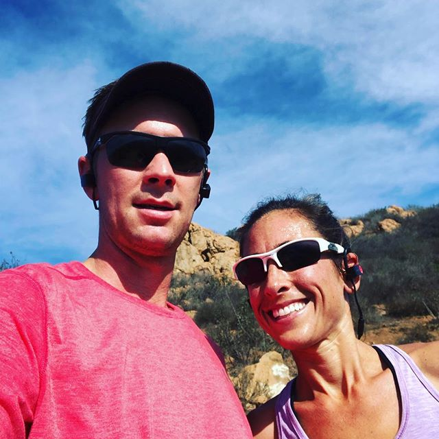 Felt great to get in a little trail running this morning. What do you do when you have a day off?  #bodyfitsd #littleitalysandiego #fitness #missiontrails #running