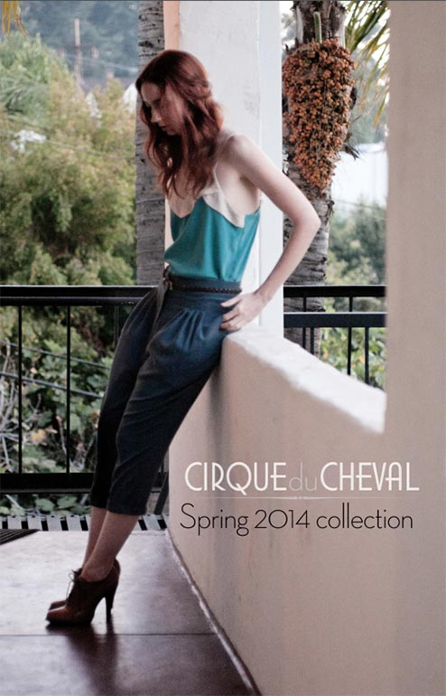 Cirque du Cheval Look Book