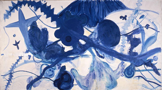 'Painting of Sea' (1987) by Kodai Nakahara