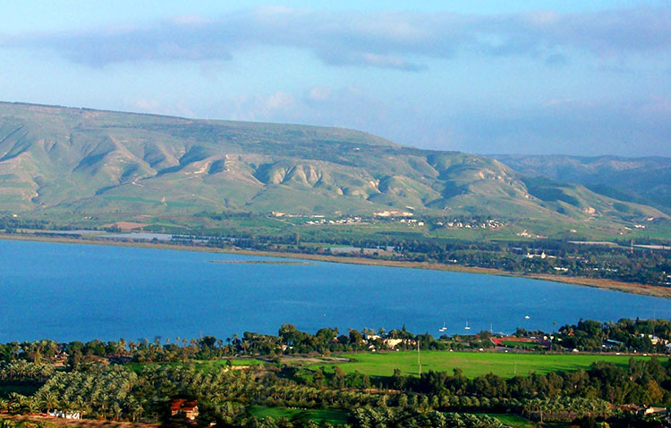 Sea of Galilee.