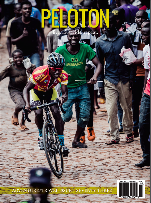 Read: StainedThe Mark of a Bicycle Life - Published in Peloton Magazine Issue 72