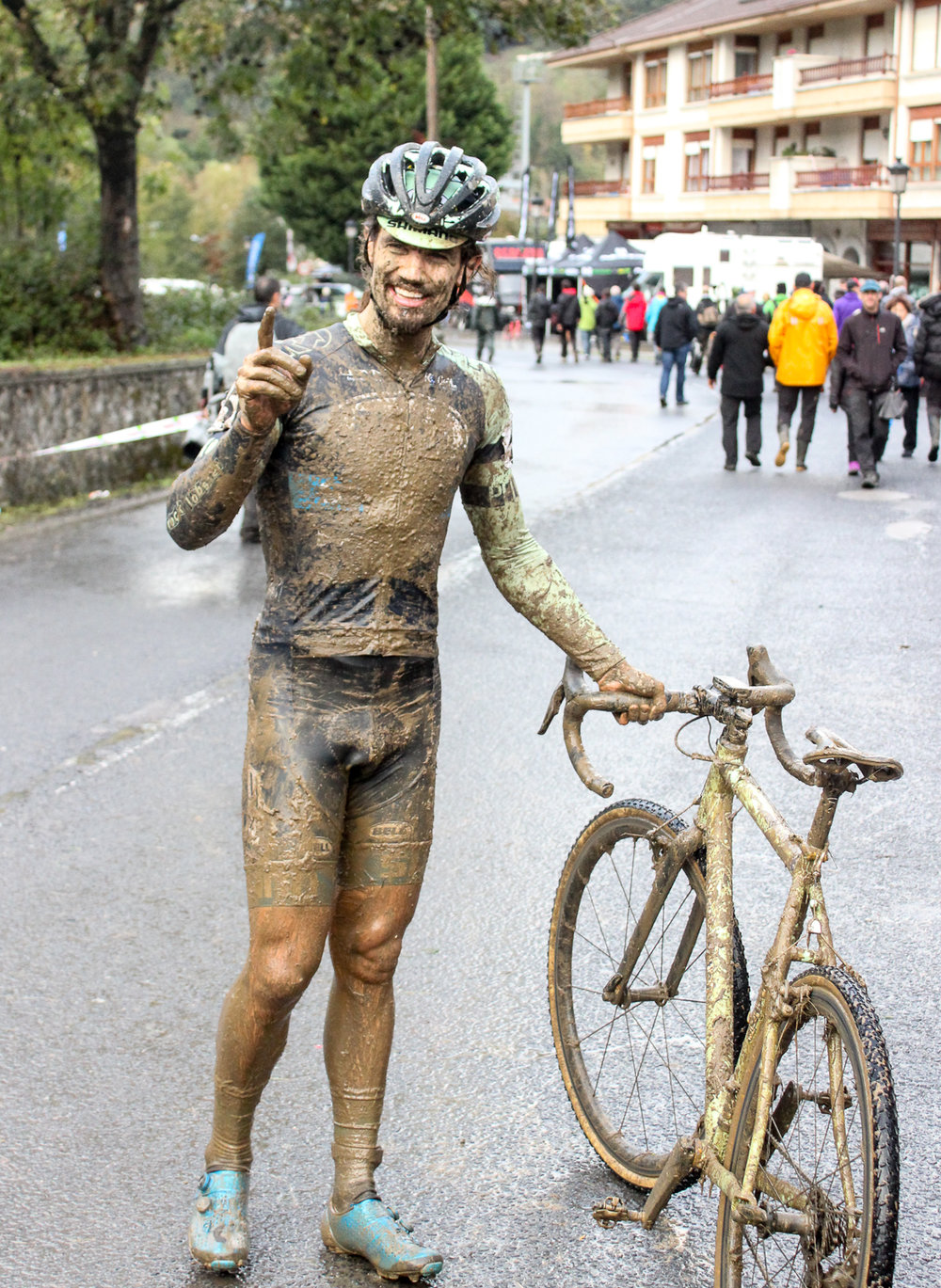 We finally won something for getting down and dirty with our reporting. Karrantza, Spain. Photo by Annick Lamb