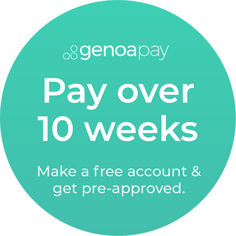Get the treatment you want, when you NEED it.  - GenoaPay is a simple, easy to use credit system that allows you to pay for your purchases over 10 weeks.  Pay zero interest and no transaction fees (we are partnered with GenoaPay and cover these for you), and joining GenoaPay is totally free. NZ owned and operated.Simply create an account with GenoaPay and get pre-approval for the purchase, from $200 up to $1,000.  Otherwise, pop in to the salon and we can help you sign up to an account straight away - just bring your driver's license or passport.Once approved you can then apply to use Genoapay at the checkout with us. Payment takes 2 minutes to complete for a first time user, and 30 seconds for every subsequent payment.GenoaPay will tell you instantly how much you can spend. If you are only approved for an amount less than the total purchase, you can pay a deposit and still pay the rest over 10 weeks – the choice is yours.Visit GenoaPay FAQs to find out more, or contact us to speak with the team.*or on special selected products or services from time to time.  Subject to availability and approval.  Customers must be 18 years or older to sign up to GenoaPay.