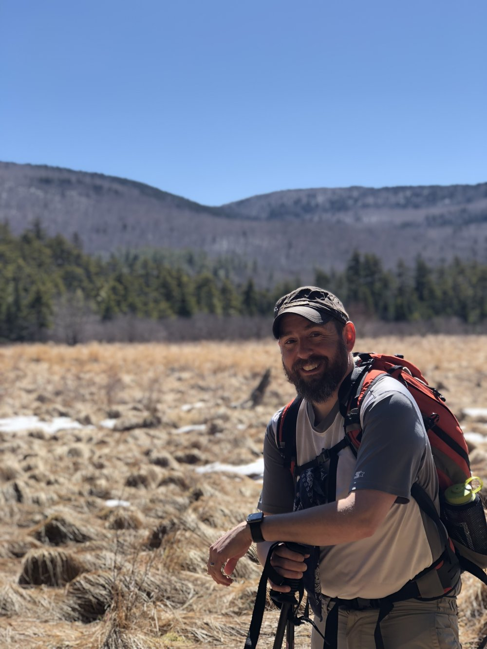 Moe Lemire is the owner and lead guide of Hike On Guides