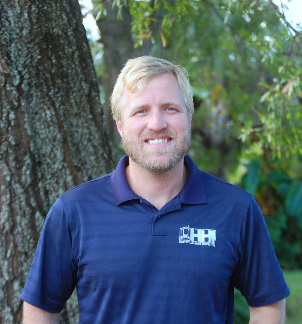 About - Huntsville Home Inspection was founded by Nathan Goldsmith in 2017. Nathan started his career in real estate 18 years ago. Since then he has managed real estate offices, listed and sold real estate, and invested in real estate. Nathan worked in the senior housing industry for 6 years, managing renovations of multiple life-care communities.Nathan is a licensed home inspector in the state of Alabama and holds a Florida real estate broker's license. Since 2015, Nathan has operated a construction company in Madison County, Alabama. Additionally, Nathan is the disaster relief/community rehabilitation team leader at Rivertree Church in Owens Cross Roads. When not renovating his own home, Nathan enjoys mountain biking, kayaking, and spending time with his wife and 3 daughters.